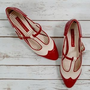 B.A.I.T. Footwear Ione Classic Patent Leather Red